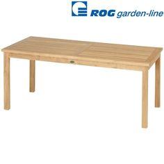 ROGGEMANN TL 8130 TEAK TISCH A-QUALITÄT FEST 180x90 CM HOLZTISCH GARTENTISCH NEU in Garten & Terrasse, Möbel, Tische | eBay