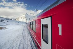 Join our guide on board of the Bernina Express for a day trip to Switzerland. Bernina Express, Train Route, Swiss Railways, Northern Italy, Lake Como, Travel Information, Train Travel, Alps, The Locals