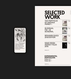 Aristide — Málaga Folio on Behance Website Design Inspiration, Website Design Layout, Web Layout, Resume Design, App Design, Branding Design, Minimal Web Design, Editorial Layout, Editorial Design