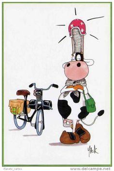 Les bretonnes en images finistere bzh bretagne cow - Dessin vache humour ...