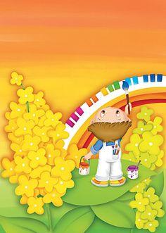 Porque los domingos inspiran a llenar las plazas de niños...porque ahora que viene el buen tiempo,parece que brotaran como las flores...porq... Beautiful Children, Beautiful Dolls, Art For Kids, Crafts For Kids, School Frame, Kids Zone, Classroom Decor, Cute Kids, Coloring Books