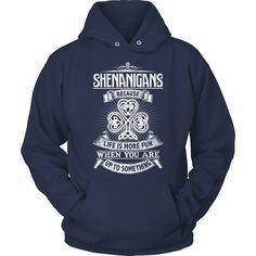 Irish T-Shirt Design - Shenanigans 2d2463609