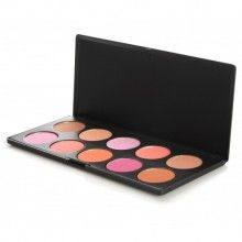 10 Color Professional Blush Palette: Face Makeup by BH Cosmetics! *bought*