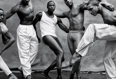 Renaldo Gardner, Jermaine Terry, Samuel Lee Roberts, Vernard J. Gilmore & Michael Jackson, Jr. Photographed By Walter Chin For Out