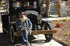 Popcorn Sutton...old moonshiner in Tenn.  Recently passed away.