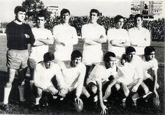 EQUIPOS DE FÚTBOL: SEVILLA contra Real Oviedo 22/12/1968