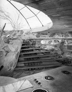 Paolo Soleri's 'The Dome' in the desert.