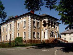 """Muzeul de Artă """"Ion Irimescu"""" din Fălticeni Romania, Mansions, House Styles, Home Decor, Manor Houses, Villas, Fancy Houses, Interior Design, Home Interiors"""