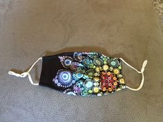 Maske Gesichtsschutz leichtes Material Mandala Design Mandala Design, Material, Beaded Bracelets, Ebay, Accessories, Jewelry, Jewlery, Jewerly, Pearl Bracelets
