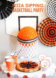 Having Digiorno Pizza for a party is so convenient because it's fast and easy! Check out these tips for throwing a fun Basketball Pizza Party!
