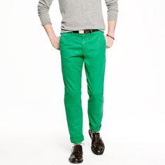 Broken-in chino in urban slim fit - pants - Men's new arrivals - J.Crew