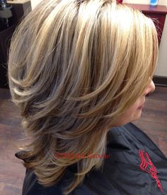 Highlights & Haircut done by Patrizia's Hair Studio in Norwalk, CT #Highlights