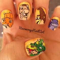The Land Before Time Nails