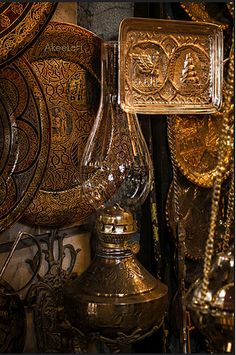 Copper market, Baghdad, Iraq