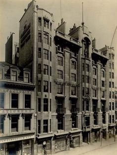 90 St Vincent street, Glasgow, 1910 Glasgow Scotland, Destruction, Brighton, Paisley, Past, Victorian, Architecture, Street, City