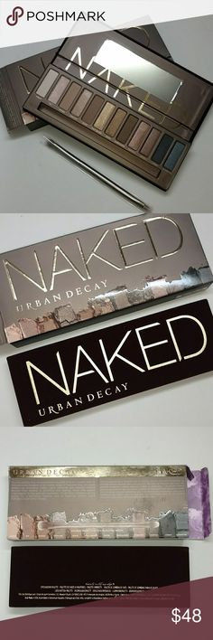 Urban Decay Naked Palette Urban Decay Naked Palette Authentic as always! Brand New with box never tested or used. No Trades. Price is firm. Urban Decay Makeup Eyeshadow
