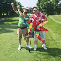 Jason Hartless and Matthew Keywell at the DMAA Golf Outing - Good luck guys! Prudential Security, Inc. | Security Guard Services - News