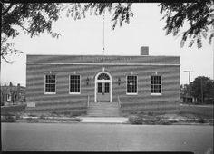 Hays Post Office 1935  Photo courtesy of Hays Public Library -- Hays, KS