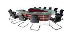 Berlin Executive Conference Table This beautiful executive #conferencetable gives you the platform that you need to create powerful and motivating presentations or to conduct important board meetings.
