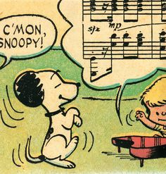 Snoopy - dancin' to the music