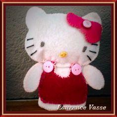Kitty feutrine