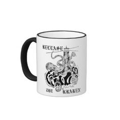 RELEASE THE KRAKEN MUG Original Idea/Artwork by my eldest Son I'm excited for him in his new venture! Blu Angel x