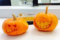 Dental Pumpkins :) keep your teeth healthy Brush, floss and sanitize!