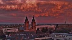 Sankt Germanus Kirche....Wesseling....Rheinbogen.....