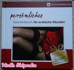 """Here you see the book """"persönliches Geschenkbuch für erotische Stunden"""" a little bit better."""