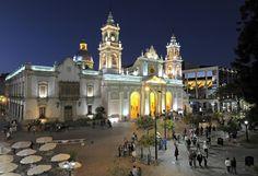 60 de 60 © UAN MABROMATA/AFP/Getty Images Catedral Basilica de Salta, Argentina Está en la ciudad de Salta y se construyó en 1882.