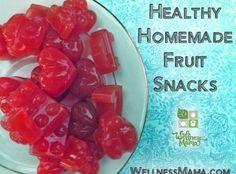 Homemade Fruit Snacks Recipe