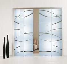 dekoratif sürgülü kapı modelleri 17