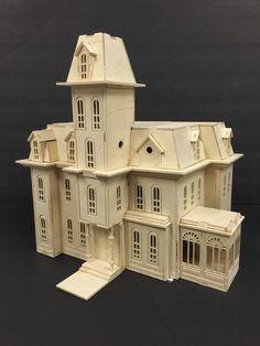 Addam's Family House 3D Model Kit by Birdswoodshack on Etsy