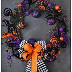 Whimsical Halloween Wreath