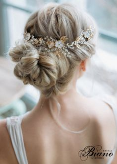 VENTE - Bridal fleur cheveux peigne, peigne à cheveux fleurs émail, parure de tête Bohème, peigne à cheveux mariage, cristal postiche - nouvelle COLLECTION