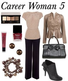 """Career Woman 5"" by riftkind on Polyvore"