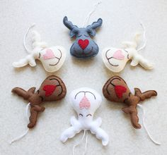 blog o szyciu, boże narodzenie, filcowe ozdoby na choinkę, filcowe zabawki, filcowy renifer, renifer z filcu, ręcznie robione ozdoby na choinkę, szycie dla dzieci, szycie na maszynie, zabawki handmade