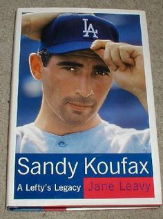 Sandy Koufax: Los Angeles Dodgers HOF, A Lefty's Legacy, book by Jane Leavy - *FREE SHIPPING!*