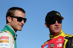 Kasey Kahne and Clint Bowyer - Phoenix International Raceway -  Day 2 I <3 these two together :)