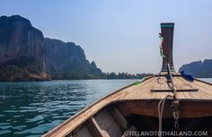 How to get to the beaches from Ao Nang // Our Favorite Beaches in Krabi, Thailand