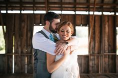 Bride and Groom Pose - Bride and Groom in Barn - Blest Photography - NC Wedding Planner - Orangerie Events