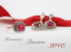Romance Passion Love by Magnolia Silver Jewellery