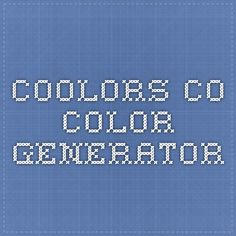 coolors.co - color generator