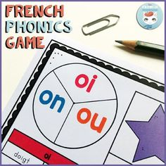 French Phonics Game: French Sounds Practice - For French Immersion Read In French, How To Speak French, Learn French, French Teacher, Teaching French, Phonics Activities, Classroom Activities, Teaching Phonics, Classroom Ideas