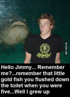 Hello there Jimmy, remember me? >:|