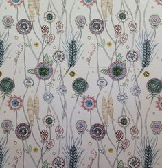 Floral print on paper - Rose nisbet