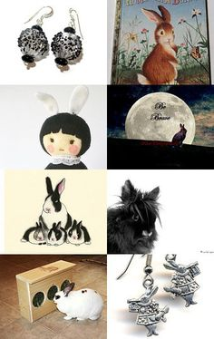 None Of These Bunnies Have The Egg! by Nancy on Etsy--Pinned with TreasuryPin.com