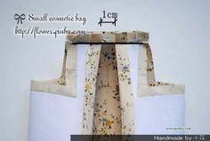 化妆包教程~~ - 小花的花工坊 - 拼布手工博客 拼布|教程