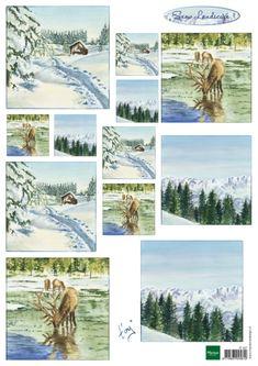 It587 Knipvel Tiny's winter landscapes