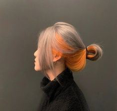 Hair Color Streaks, Hair Dye Colors, Hair Inspo, Hair Inspiration, Korean Hair Color, Asian Short Hair, Hair Reference, Dye My Hair, Aesthetic Hair